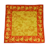 Sahara Rust and Gold Cloth 90X90cm
