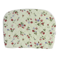 Green Flower Medium Padded Bag