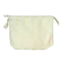 Cosmetic Bag with Tassel Florentine ivory