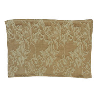 Chardonnay Damask Placemat Beige S/12