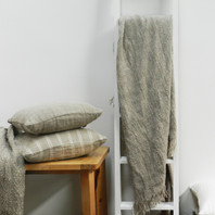 Hand Loom Linen Throw 1.25 KGS