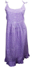 Ditsy Lilac Nightdress SMALL