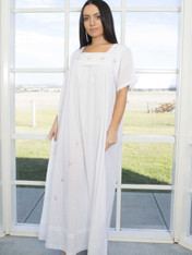 Emily Butterfly Embroidered Nightdress (Mummy)