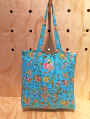 Vivaan Scuba Blue Lightweight Cotton Bag Pack of 2 (SOLD OUT)