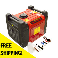 Emergency Home Power Generator 3000 Watts Inverter Rolling Quiet SF3600
