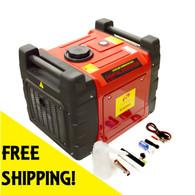 Emergency Home Power Generator 3000 Watts Inverter Rolling Quiet SF3600