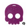 Sugar Skull Teething Toy - Purple