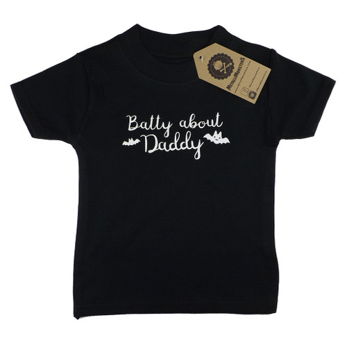 Batty about Daddy T-shirt