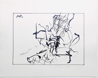 Robert Motherwell, Untitled (Catalogue Raisonne: Engberg/Banach 211), 1977