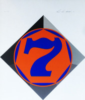 Robert Indiana, Heptagon (Seven)  (Catalogue Raisonne: Sheehan, 58), 1970