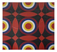 Nassos Daphnis, Untitled Geometric Abstraction (dedicated to Caroline & John), 1970