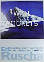 Ed Ruscha, Wall Rockets (Signed), 2002