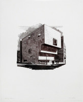 Richard Haas, The Whitney (Marcel Breuer Building), 1979