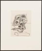 Seymour Lipton, Untitled Drawing, ca. 1958