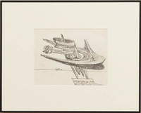 Seymour Lipton, Untitled Drawing, ca. 1975