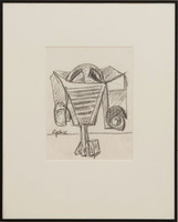 Seymour Lipton, Untitled Drawing, 1976