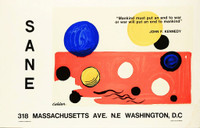 Alexander Calder, SANE Washington D.C. Exhibition Poster, 1975
