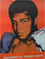 Andy Warhol, Muhammad Ali (Signed by Andy Warhol)