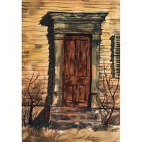 Richard Anuszkiewicz, Old Door, 1953