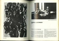 Pierre Alechinsky, ARIS-KOBENHAVN CoBrA Catalog, Uniquely Hand Signed by 10 Artists, 1981