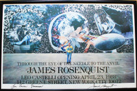 James Rosenquist, James Rosenquist at Leo Castelli Gallery (Through the Eye of the Needle to the Anvil), 1988