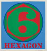 Robert Indiana, Hexagon, 1975