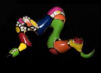 Niki de Saint Phalle, Brooch (Serpent)