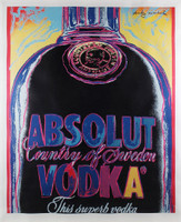Andy Warhol, Absolut Vodka, 1985