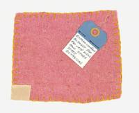 Tracey Emin, Rothko Comfort Blanket, 2010