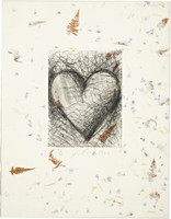 Jim Dine, The Jewish Heart, 1982