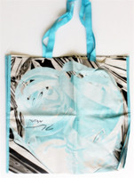 JEFF KOONS Hand Signed Mixed Media Hugo Boss Silkscreen Bag 2012 Bloomingdales