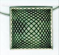 Richard Anuszkiewicz, Lt. Edition Op Art Pendant Necklace for Hirshhorn Museum and Sculpture Garden  (ca. 1976)