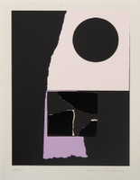 LOUISE NEVELSON, Untitled, from the Collection of Ileana Sonnabend and the Estate of Nina Castelli 1973,  Screenprint, Signed & Numbered