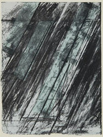 CY TWOMBLY, Untitled, from the Collection of Ileana Sonnabend and the Estate of Nina Castelli 1973, Lithograph and Screenprint on Paper
