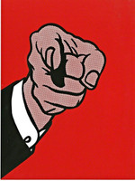 ROY LICHTENSTEIN Finger Pointing, from the Collection of Ileana Sonnabend and the Estate of Nina Castelli Sundell 1973