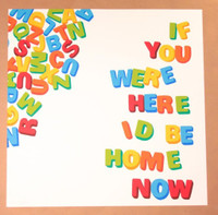 STEPHEN POWERS If You Were Here I'd Be Home Now 2012, color offset lithograph (hand signed) - framed