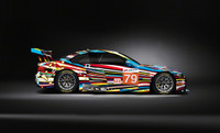 JEFF KOONS ART CAR BMW 1:18 RATIO MINICHAMPS BMW M3 GT2 2010