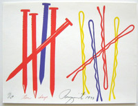 JAMES ROSENQUIST Ten Days from the Collection of Ileana Sonnabend and the Estate of Nina Castelli 1973, Silkscreen on wove paper (hand signed and numbered) - unframed