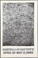 JASPER JOHNS Castelli at Dayton's Poster 1969, Offset Lithographic Poster