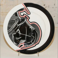 FRANK STELLA Vortex Engraving #3 Charger Plate 2000, Limited Edition Porcelain Plate, signed and numbered in original presentation box