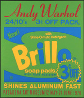 ANDY WARHOL ANDY WARHOL AFTER ANDY WARHOL Vintage Pasadena Art Museum Poster 1970, Original Silkscreen Poster for Iconic Exhibition