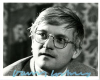 DAVID HOCKNEY Signed Photograph ca. 1981,  Hand signed.