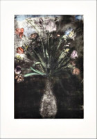 JIM DINE Hand Colored Flowers, State II 1977-1989, Etching, soft-ground etching, aquatint, drypoint, engraving and power-tool abrasion with hand coloring, on Fabriano wove paper. Signed. Numbered. Dated.