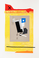 IVAN CHERMAYEFF, Smoker 1982, Serigraph printed in twenty four colors on Arches paper. Signed. Numbered.