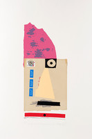 IVAN CHERMAYEFF, One Eyed Peasant 1982, Serigraph printed in nineteen  colors on Arches paper. Signed. Numbered.