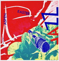 JAMES ROSENQUIST Aspen Easter Jazz (from the Estate of Nina Castelli and the Collection of Ileana Sonnabend) 1967,  Color Silkscreen on Wove Paper. Signed. Numbered. Unframed.