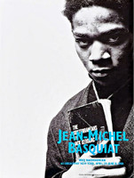 JEAN-MICHEL BASQUIAT AFTER JEAN-MICHEL BASQUIAT Portrait with Jack Kerouac (Poster for Basquiat's final exhibition) 1988, Offset Lithograph Poster for 1988 Vrej Baghoomian exhibition. Historic. Unframed.