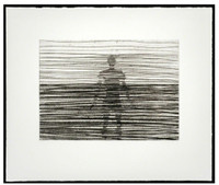 ANTONY GORMLEY Another Place 2013, Etching on 280 gsm BFK Rives Naturel paper. Signed, numbered im pencil. Unframed.