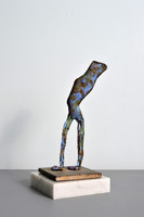 CAROLE A. FEUERMAN Man 2017, Unique bronze sculpture. Signed, titled with artist's copyight.
