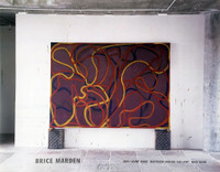 BRICE MARDEN Brice Marden Exhibition Poster (Signed) 2002, Offset Lithograph Poster. Signed.